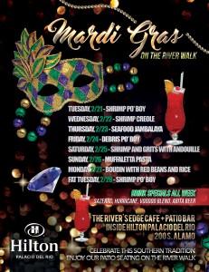 Mardis Gras Week - The River's Edge